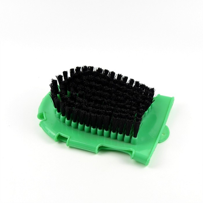 18*13 cm Horse Grooming Brushes , PVC Plastic Horse Hair Brush Special Designed